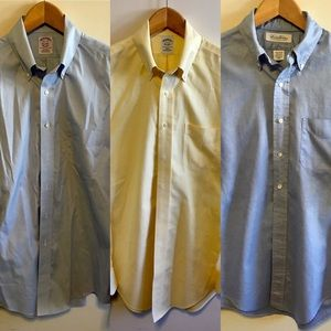 Set of 3 Brooks Brothers oxford shirts 15.5 34/35